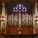 organ at the Chapel of Saint John the Divine